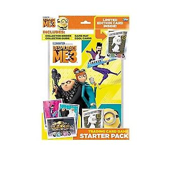Topps Minions Despicable Me 3 Trading Cards Starter Pack