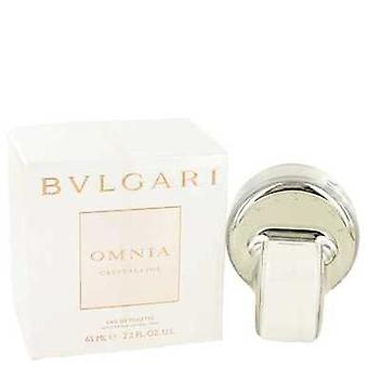 Omnia Crystalline By Bvlgari Eau De Toilette Spray 2.2 Oz (women) V728-423256