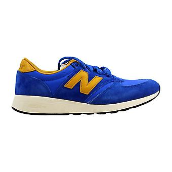 Nieuwe balans 420 re-engineered Suede blauw/goud mannen MRL420SV maat 7,5 medium