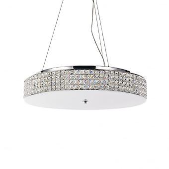 Ideal Lux Roma 12 Bulb Pendant Light