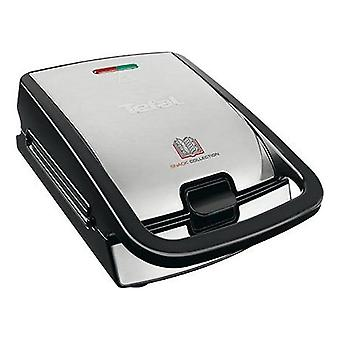 Tefal SW852D Snack Collection Wafelijzer Zwart/RVS