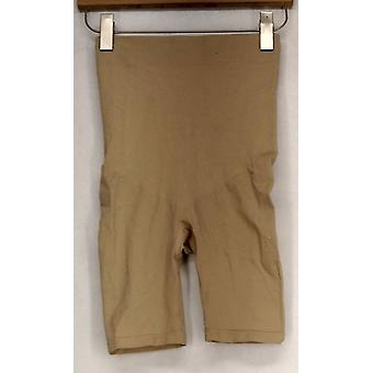 Slim 'N Lift Infused Stretch w/ Slimming Detail Shorts Beige Shaper