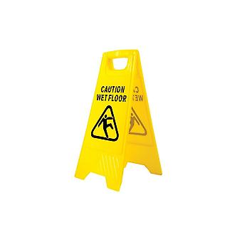 Portwest wet floor warning sign hv20