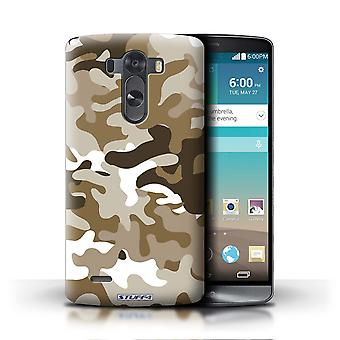 STUFF4 Phone Case / Cover for LG G3/D850/D855 / Brown 1 Design / Camouflage Army Navy Collection