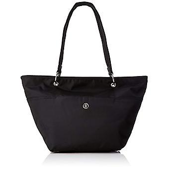 Bogner Lacey - Donna Schwarz shoulder bags (Black/teak) 19x27x42 cm (B x H T)
