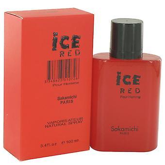 Ice Red Eau De Parfum Spray Von Sakamichi 100 ml