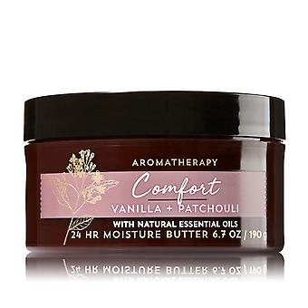 Bath & Body Works Comfort Vanila & Patchouli Body Butter 6.7 oz / 190 g