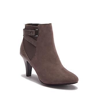 Italiaanse schoenmakers Womens paris1 stof amandel teen enkel mode laarzen