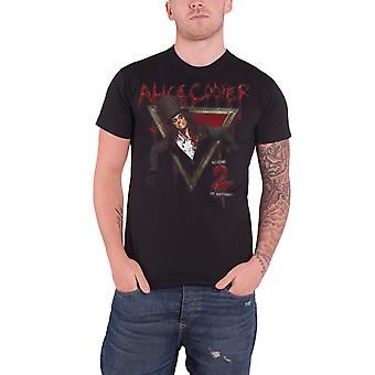 Alice Cooper T Shirt Welcome To My Nightmare Official Mens New Black