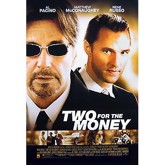 Kaksi rahaa (yksipuolinen Regular) alkuperäinen elokuva juliste