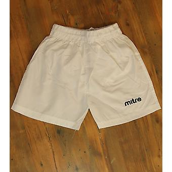 mitre sports shorts boys fitness shorts loose girls pants white