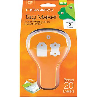 Fiskars Tag Maker 2 Punch-Label/einfache BMK2-7670