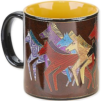 Laurel Burch Artistic Mug Collection Native Horses Lbm 301