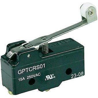Microswitch 250 Vac 15 A 1 x On/(On) Cherry Switches GPTCRS01 momentary 1 pc(s)