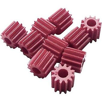 Workplace training material - Sprockets Modelcraft Module Type 0.5 Bore diameter 2.9 mm No. of teeth 12