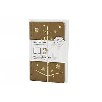 Moleskine Ornament Card Pocket  Mockingbirds by Moleskine