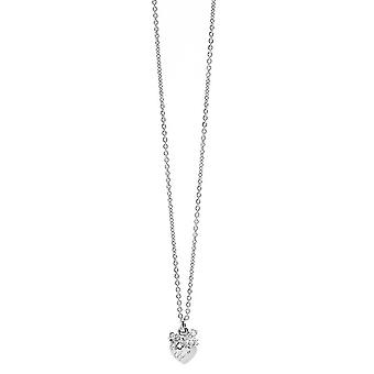 Guess ladies chain necklace stainless steel Silver UBN21583