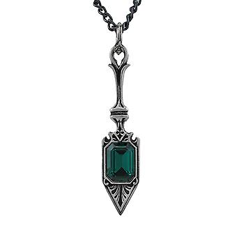 Alchemy Gothic Sucre Vert Absinthe Spoon Pendant w/ Necklace