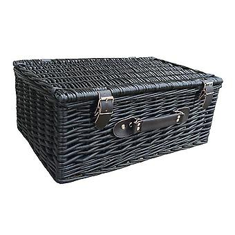 46cm Black Willow Basket