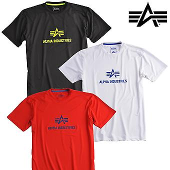 Alpha industries shirt lichaam logo T