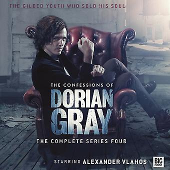 The Confessions of Dorian Gray: The Complete Series Four (Audio CD) by Handcock Scott Vlahos Alexander
