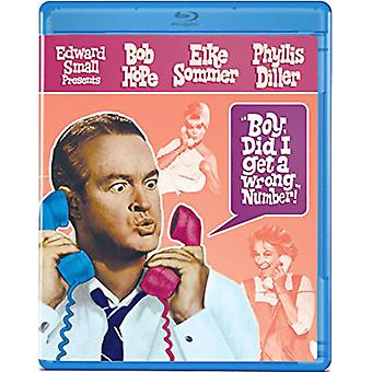 Boy Did I Get a Wrong Number [Blu-ray] USA import