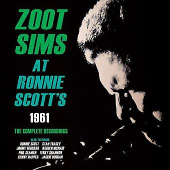 Zoot Sims - på Ronnie Scott 1961: komplet optagelser [CD] USA import