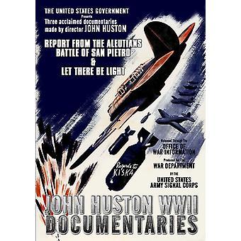 John Huston WWII documentaires [DVD] USA importeren