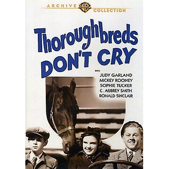 Thoroughbreds Don't Cry [DVD] USA import