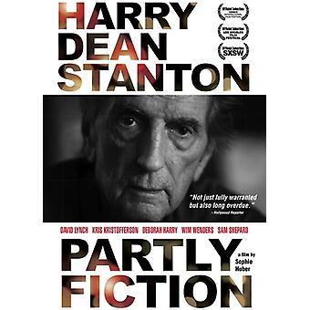 Harry Dean Stanton: Dels fiktion [DVD] USA importerer