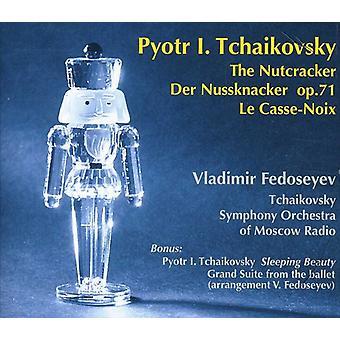 P.I. Tchaikovsky - Tjajkovskij: Nøddeknækkeren [CD] USA import