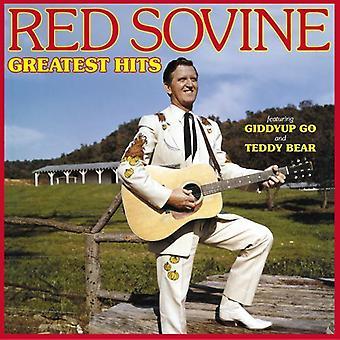 Rød Sovine - Greatest Hits CD] USA importerer