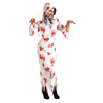 Ghost costume with blood spirits dress costume ladies