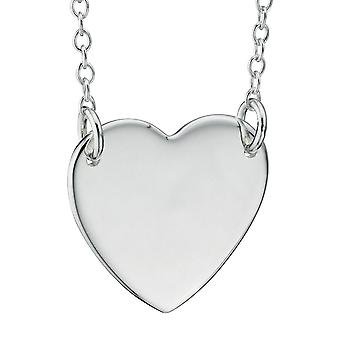925 Silver Fashionable Heart Necklace
