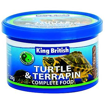 King British Turtle and Terrapin Food (Reptiles , Reptile Food , Turtles)