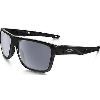 Oakley Crossrange Polished Black/Grey Unisex Sunglasses - OO9361-936101