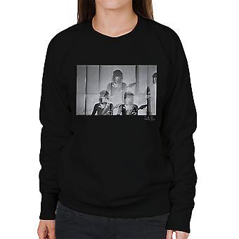Rolling Stones Keith Richards Guitar kvinders Sweatshirt
