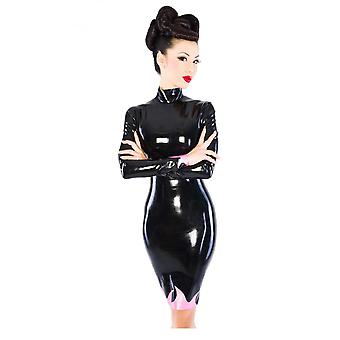 Westward Bound Inferno Latex Rubber Dress.