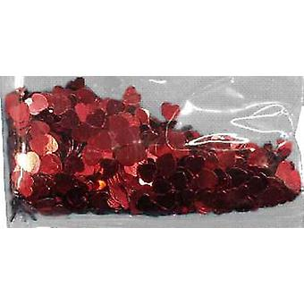 Confetti RED HEARTS bag of 84g