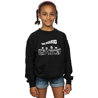 The Beatles Girls Cartoon Shot Sweatshirt