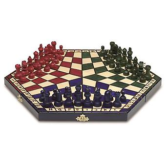 Cayro Foldable 3 player chess (Toys , Boardgames , Traditionals)
