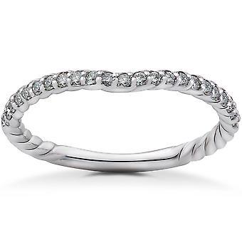 1 / 2ct diamant bague de mariage Isabella