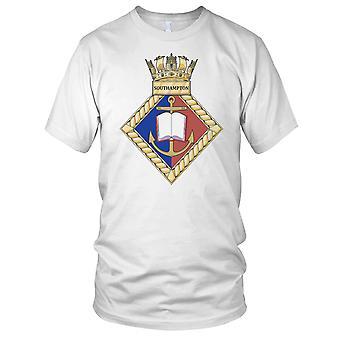 Royal Navy HMS Southampton Mens T Shirt