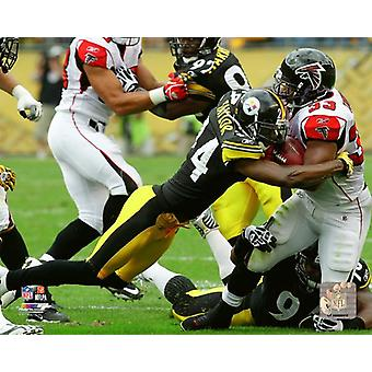 Ike Taylor 2010 Action Photo Print