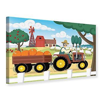 Canvas Print boerderij