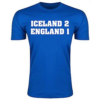 Iceland 2 England 1 T-Shirt (Blue) - Kids