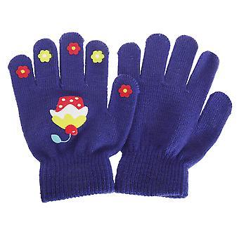Pour enfants filles pince magique gants (1 paire)