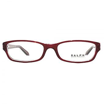 Ralph By Ralph Lauren RA7040 Glasses In Transparent Red