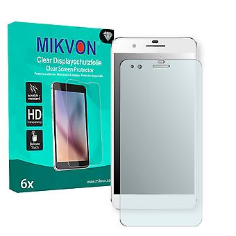 Huawei Honor 6 Plus Screen Protector - Mikvon Clear (Retail-Paket mit Zubehör)