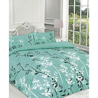 Kaylee Floral Duvet edredón cubrir Polycotton impreso ropa de cama Set todos los tamaños